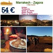 Viajes de Marrakech a Zagora