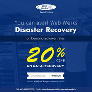 Web Werks Disaster Recovery on Demand at lower rates