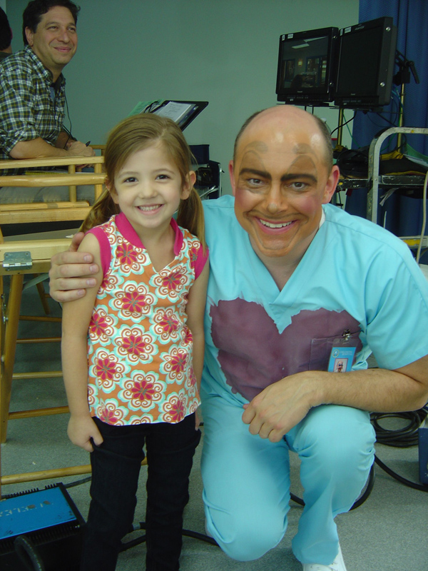 Cassidy Guetersloh and Rob Corddry
