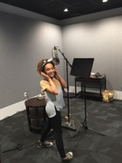 "Kylee Mellick Recording for ""Cleo & Cuquin"""