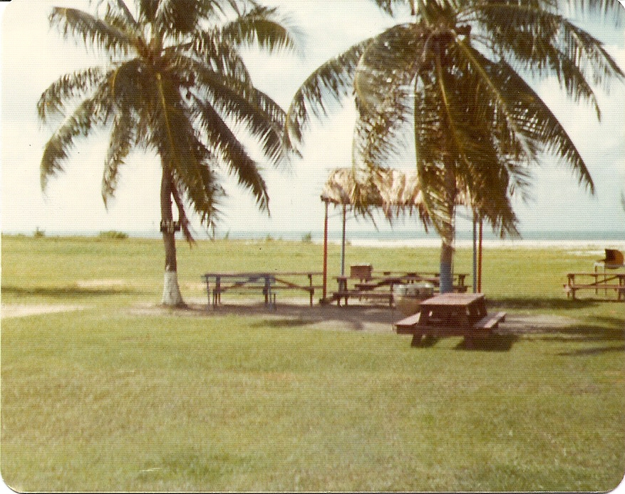 Truman Annex Beach  Key West 1977