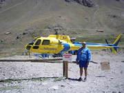 HELICOPTERO RESCATE (EN EL ACONCAGUA)