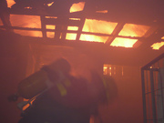 Incendio castro HOGAR DE CRISTO