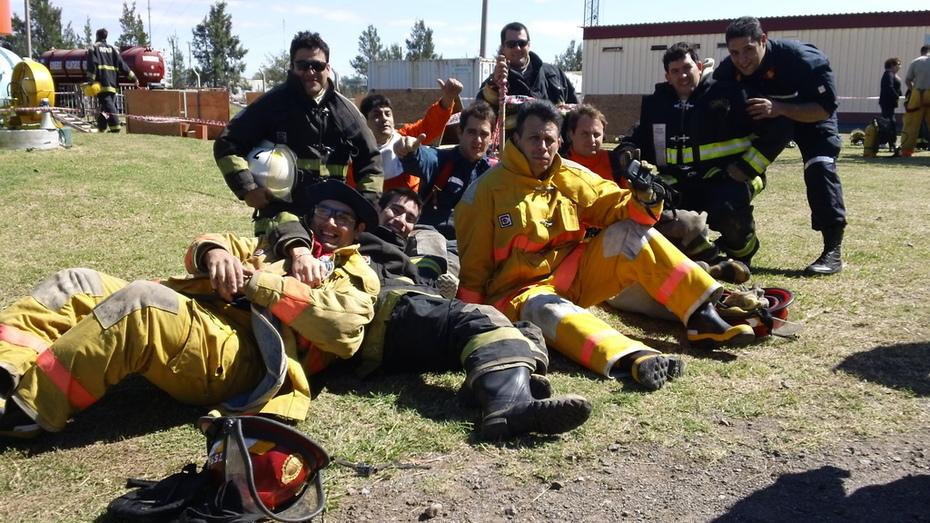 El Sentimiento de Hermandad fue impresionante / Escuela de Tecnicas Operativas de Seguridad y Supervivencia / CEBE / Rio Tercero en Cordoba / Argentina