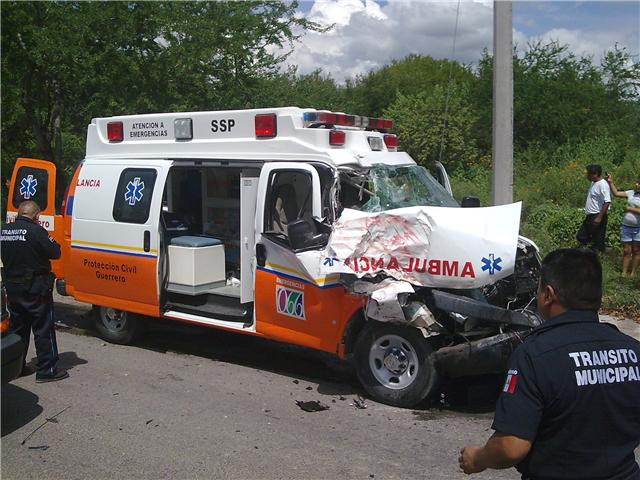 choque de ambulancia