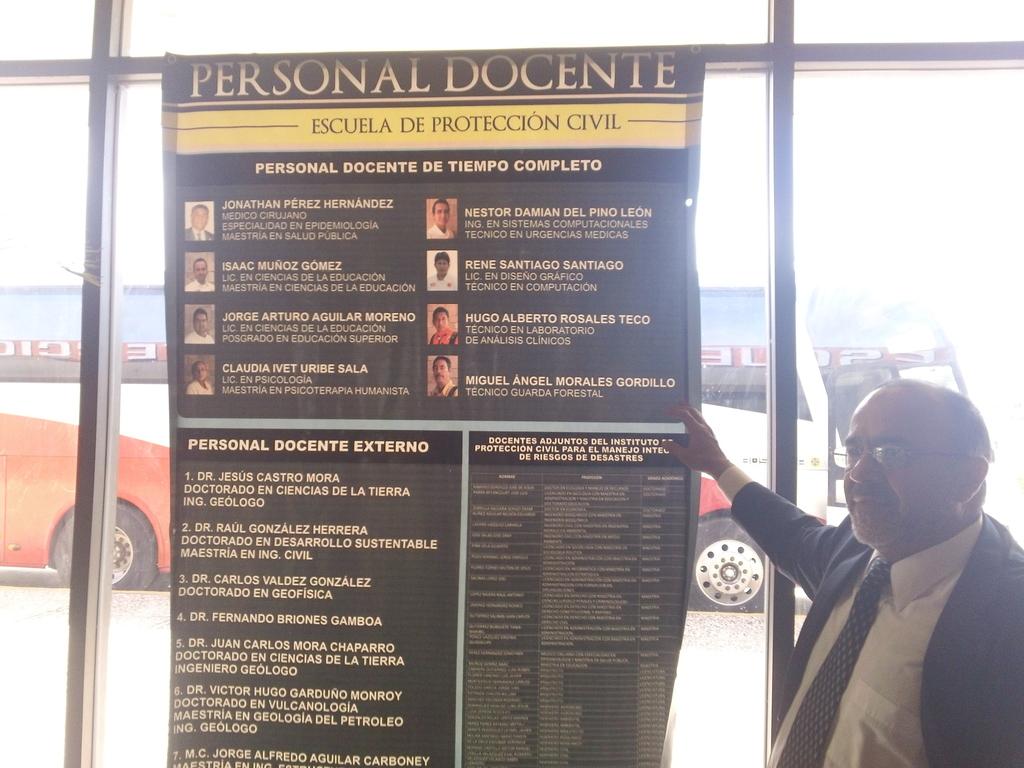 VISITA A LA ESCUELA DE PROTECCIÓN CIVIL DE LA CIUDAD DE TUXTLA GUTIERREZ / GOBIERNO DE CHIAPAS EN MÉXICO