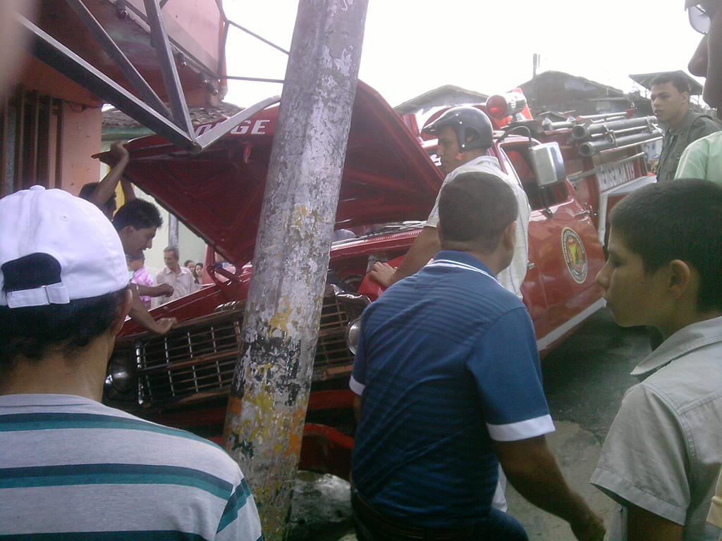 accidente bomberos risaralda caldas
