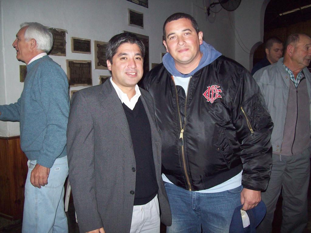 Visita a la Federación Entrerriana de Bomberos / La Hermandad de Bomberos - 28 Abril 2012 (Elecciones de nuevo Directorio)