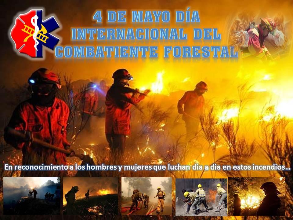 4 de Mayo Dia Internacional del Combatiente Forestal