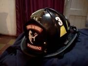 mi casco de la Bomba San Miguel