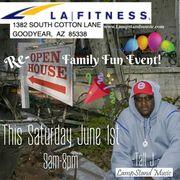LA Fitness Event