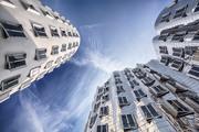 Gehry Gebäude Düsseldorf