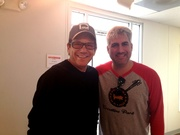 Anson Williams and Taylor Hicks