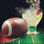 smoke vodka football