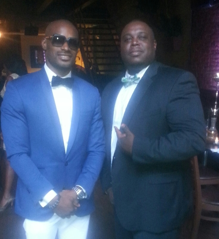 TYSON BECKFORD SOIREE FASHION WEEK 2014