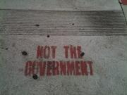 Graffiti are in Echo Park