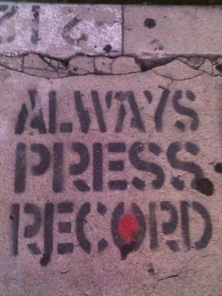 Sidewalk Art -  Echo Park