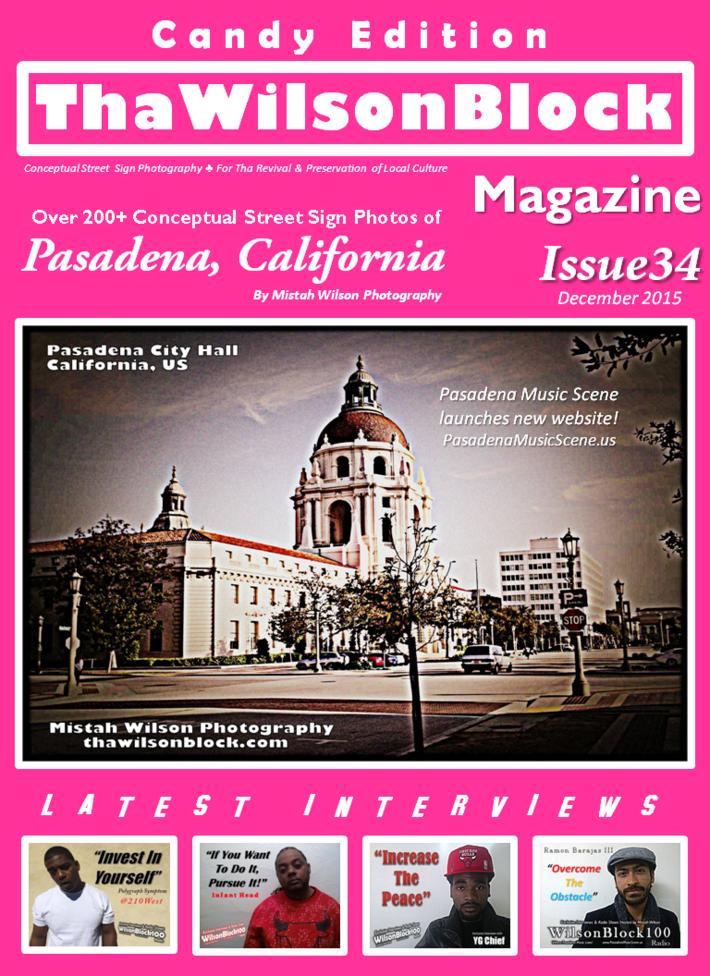 ThaWilsonBlock Magazine Issue34 Candy Edition