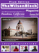 ThaWilsonBlock Magazine Issue34 Plum Edition