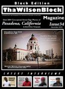 ThaWilsonBlock Magazine Issue34 Black Edition