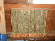 My hay feeder project