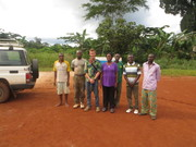 Peace Corps visit to my site