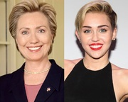 Miley Cyrus Hillary Clinton - Mother Daugther [1]