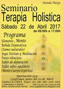 CARTEL SEMINARIO HOLISTICO abril 2017