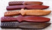 Wooden Training Knives