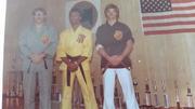 Soke McNeill, Master Joe Walker, and Master Briggs - 1975