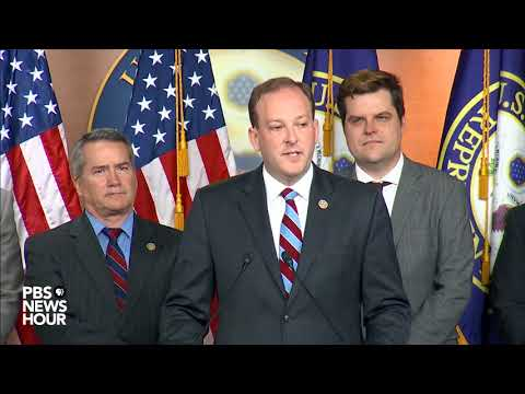 WATCH: House Republicans hold news briefing regarding special counsel
