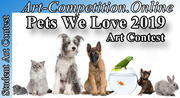 OPEN ART CONTEST FOR ARTISTS AND PHOTOGRAPHERS – PETS WE LOVE 2019