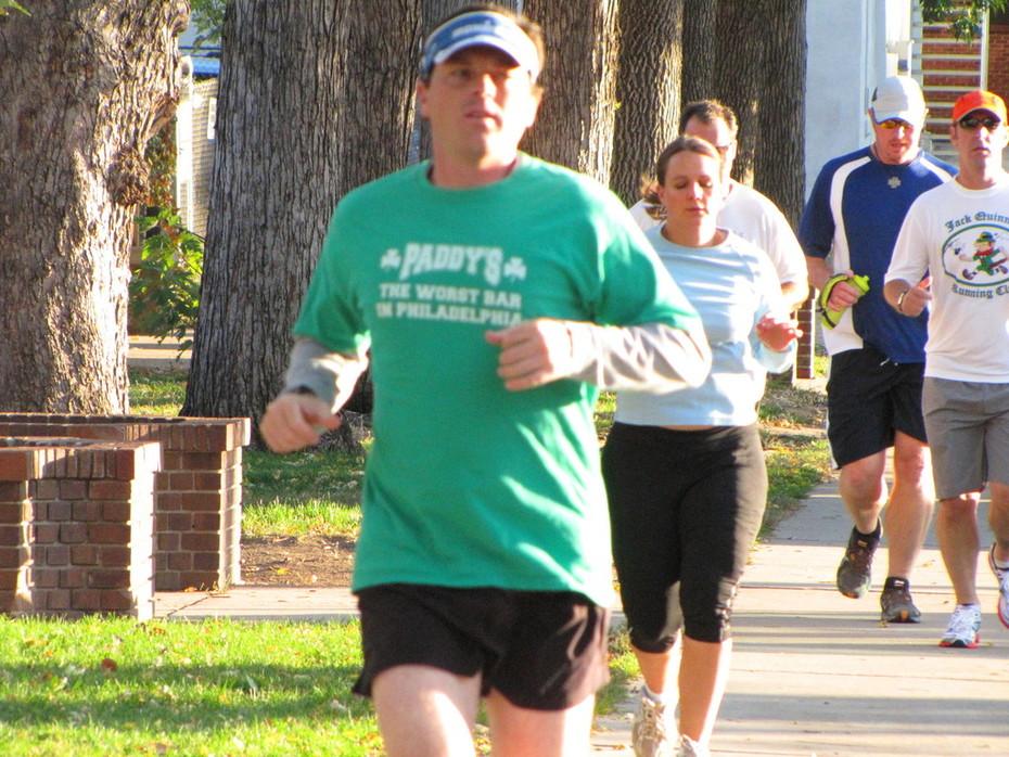 Jack Quinn's run, Oct. 12