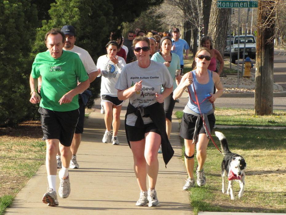 Jack Quinn's Run, April 19