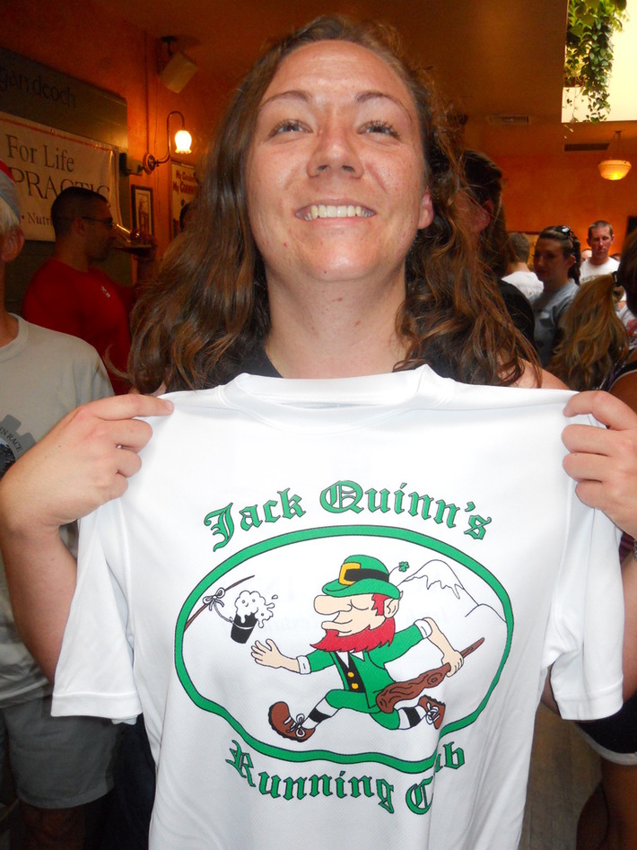 Jack Quinn's Run, June 28: Dean Whitman joins the '200 Club'