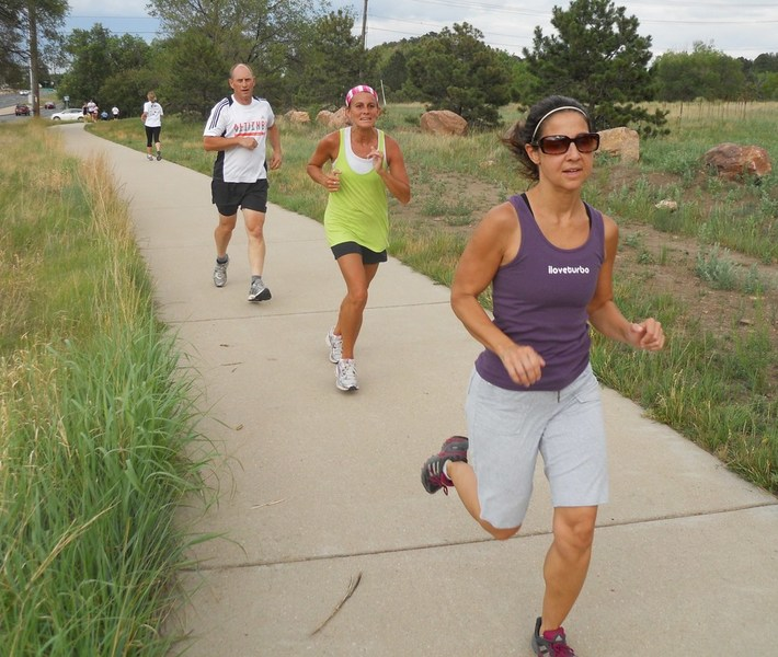 Jack Quinn's runners take a field trip to Boulder Running Company