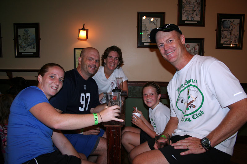 Jack Quinn's Running Club 8-2-11
