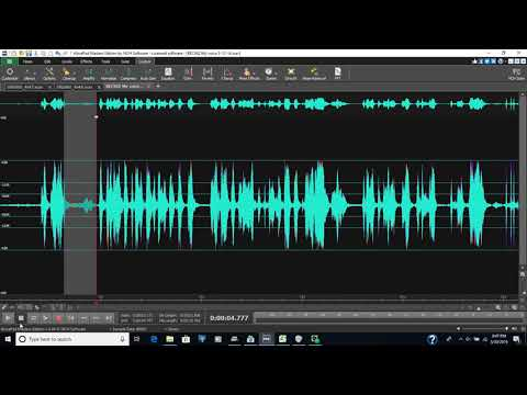 A recording with spirits talking after I used balanced process changes to the recording