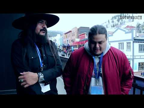 SidewinderTV - Interview with Nataanii Means (Sundance 2018)