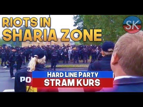 NEW RIOTS   Rasmus Paludan visits Sharia Zone VOLLSMOSE ✌