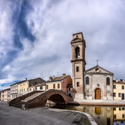Chiesa e ponte del Carmine