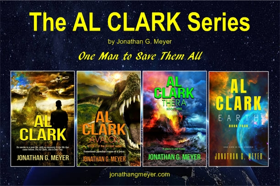 Al Clark Series 4-Book Graphic