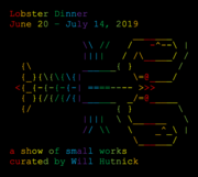 LOBSTER DINNER: a show of small works