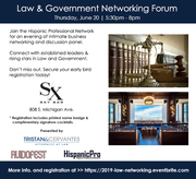 2019 Law & Government Networking Forum