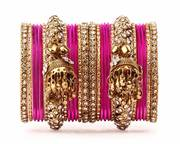 Buy Pink Bangles Online in India at Best Prices