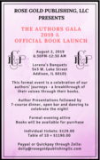 The Authors Gala 2019