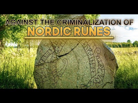 Demonstration Against the Swedish Rune Ban + Interview