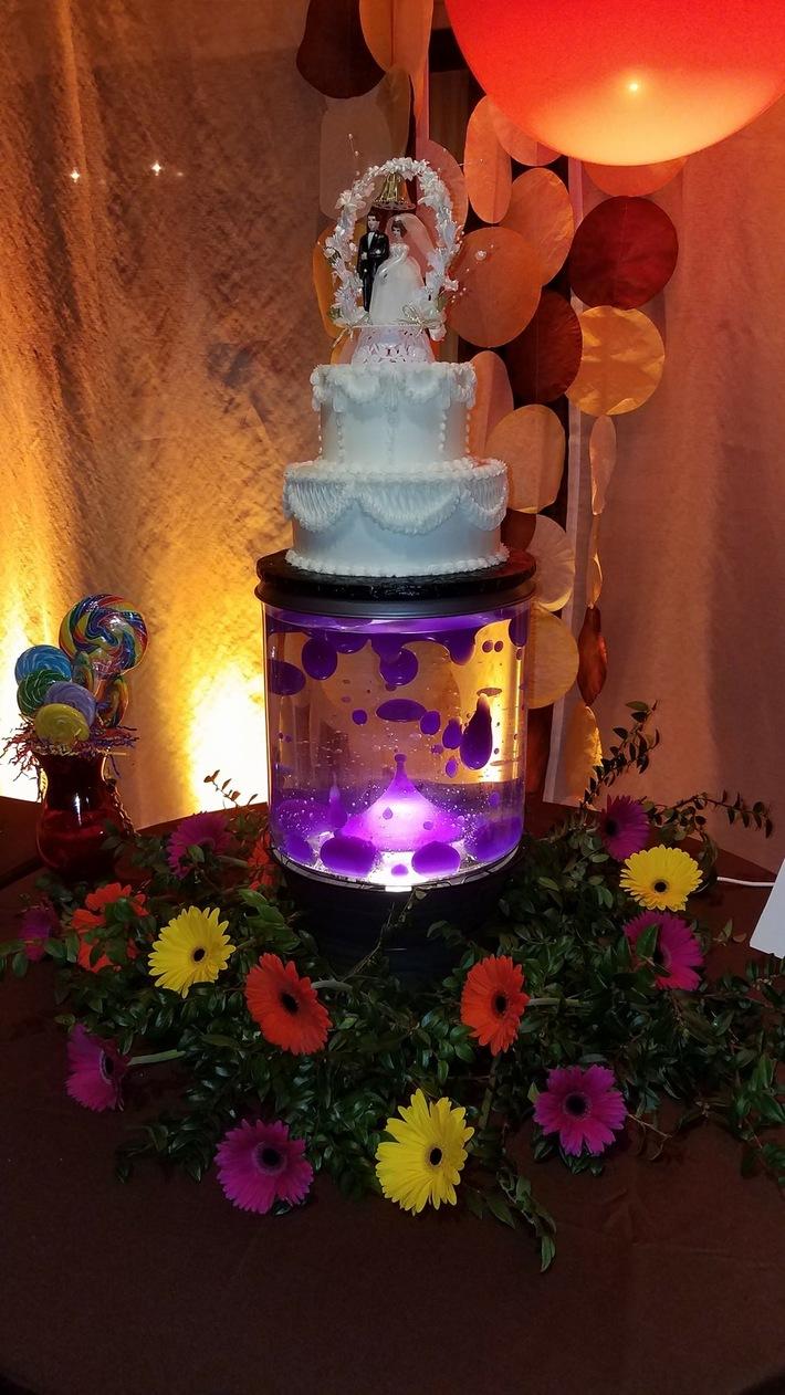 50th Anniversary Cake Stand