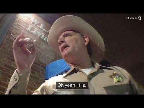 This Sheriff changes stance on weed after smoking a joint for first time.