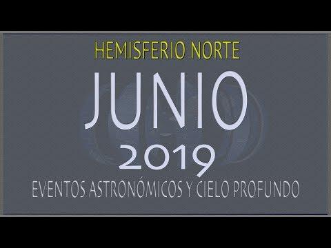 CIELO DE JUNIO 2019. HEMISFERIO NORTE